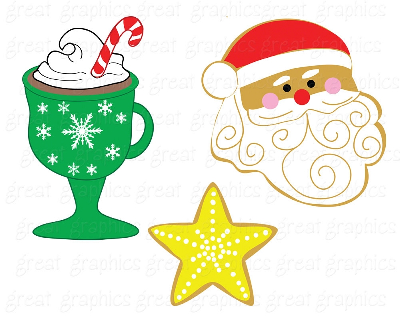Clip Art Christmas Digital ... Part Numb-Clip Art Christmas Digital ... Part Number Ca Hol Cookieswap-11