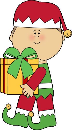 Clip art, Christmas elf .-Clip art, Christmas elf .-7