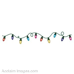 Clip Art Christmas Lights