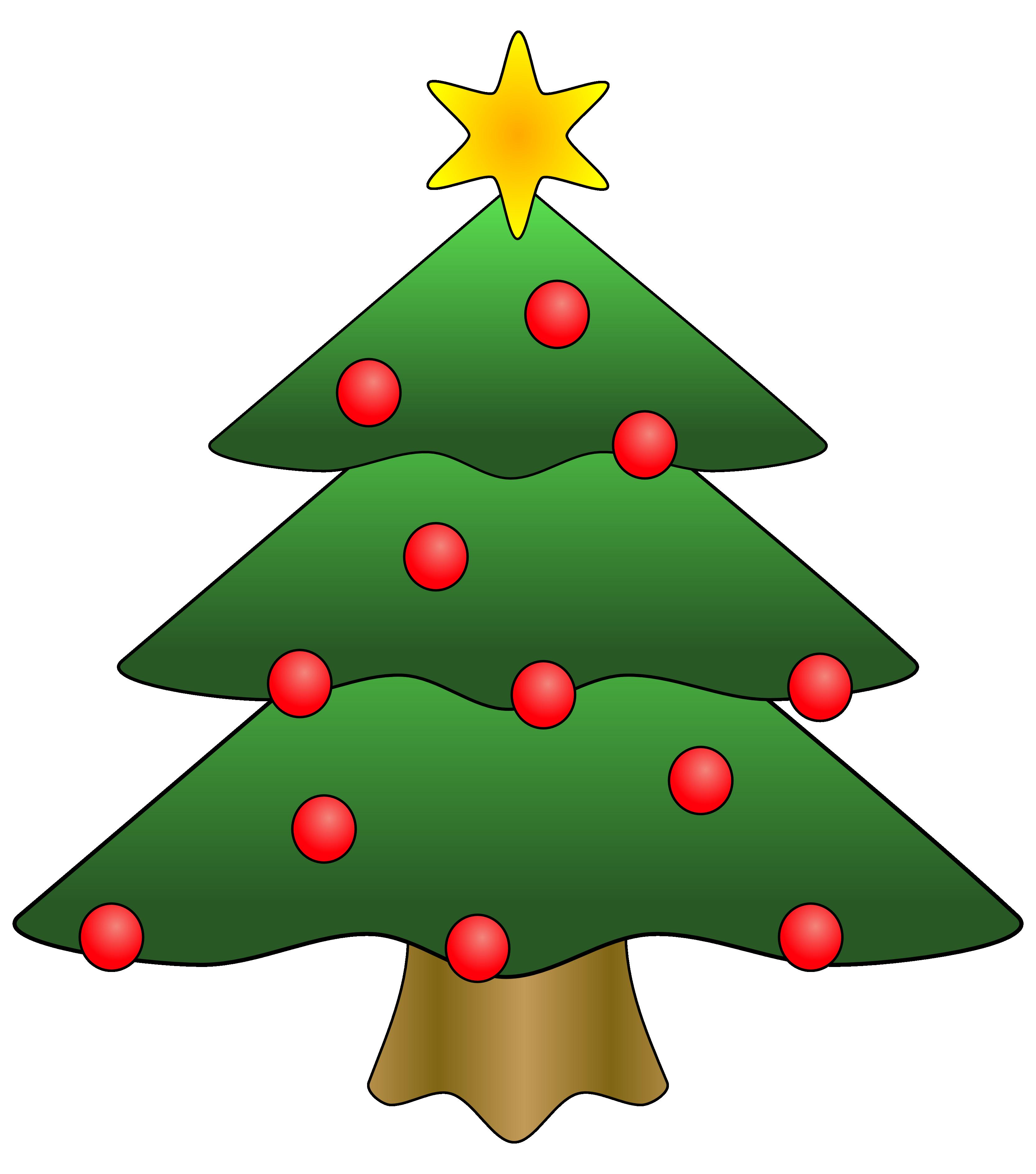 Clip Art Christmas Tree | Clipart Librar-Clip Art Christmas Tree | Clipart library - Free Clipart Images-10