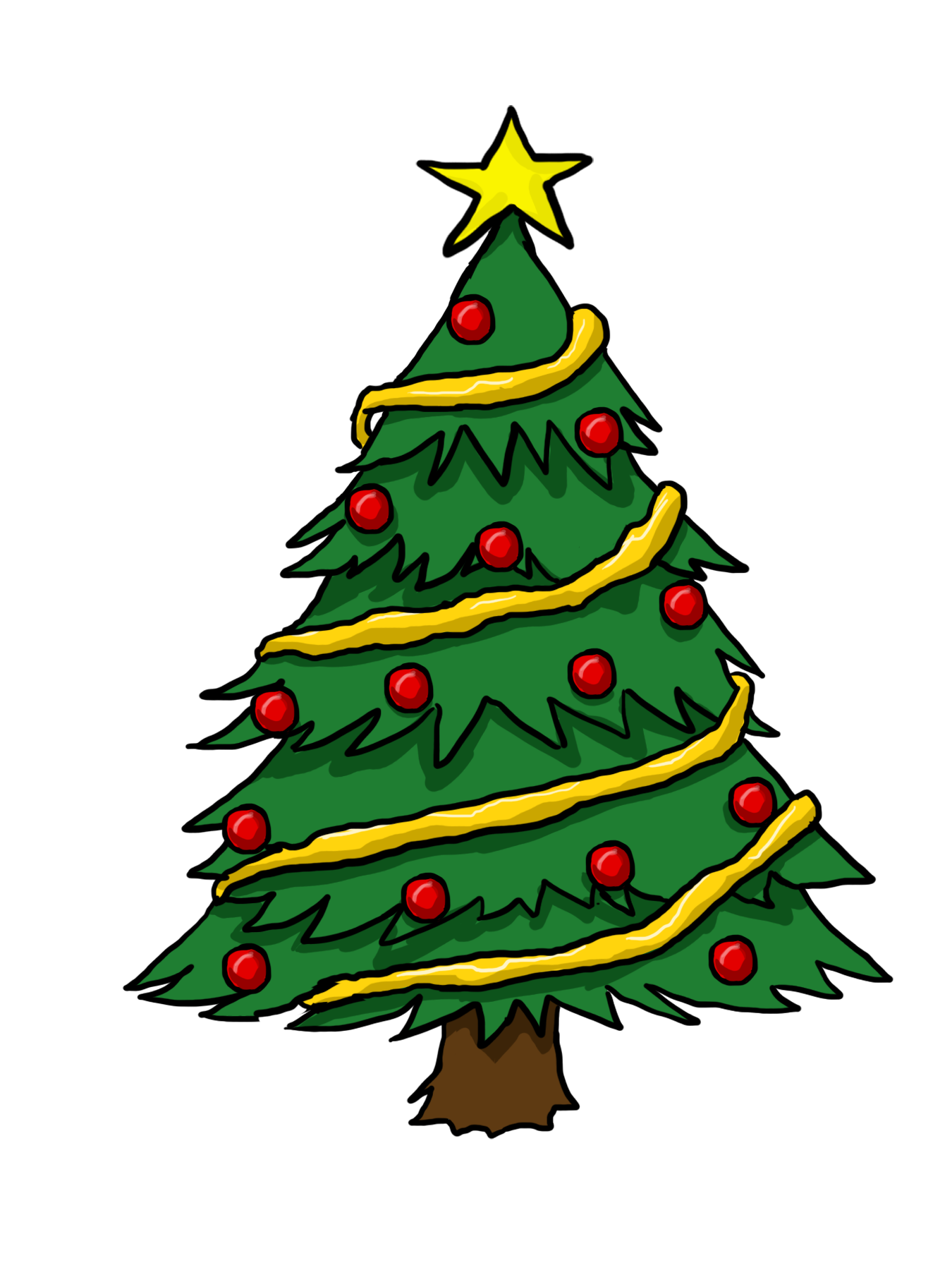 Clip Art Christmas Tree Clipart Panda Free Clipart Images