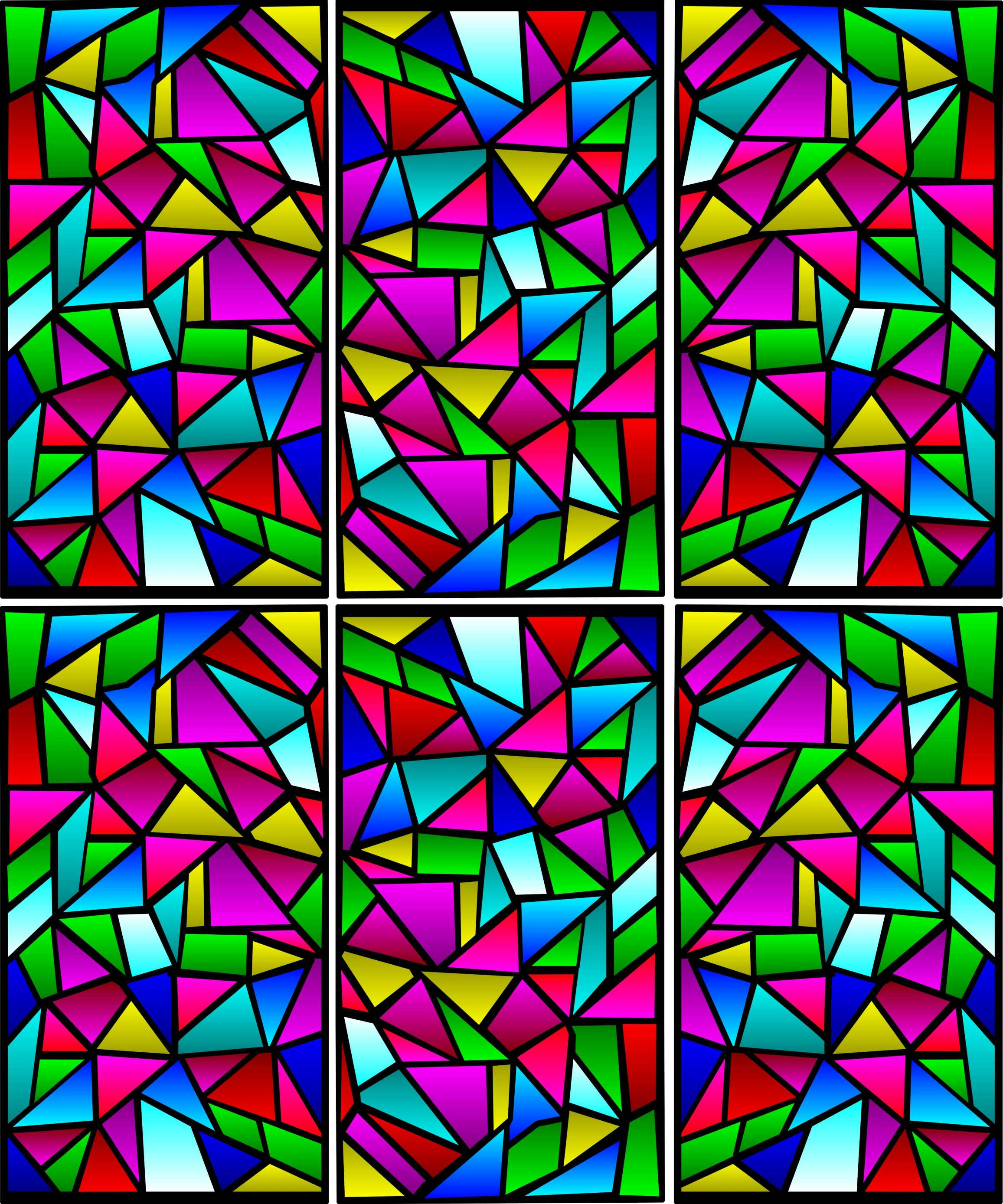 Stained Glass Clip Art