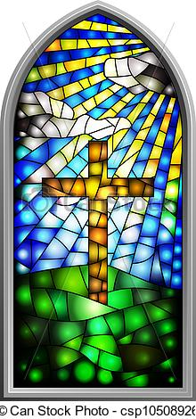 Clip Art Church Stained Glass .