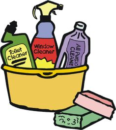 Clip Art Cleaning Supplies .