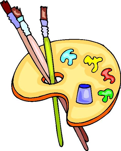 Clip Art Clip Art Painting 076093