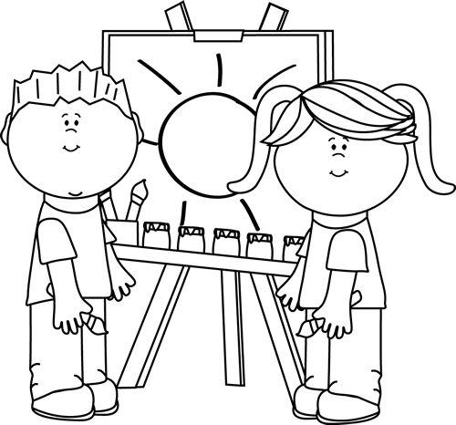 clip art clipart black and white-clip art clipart black and white-6