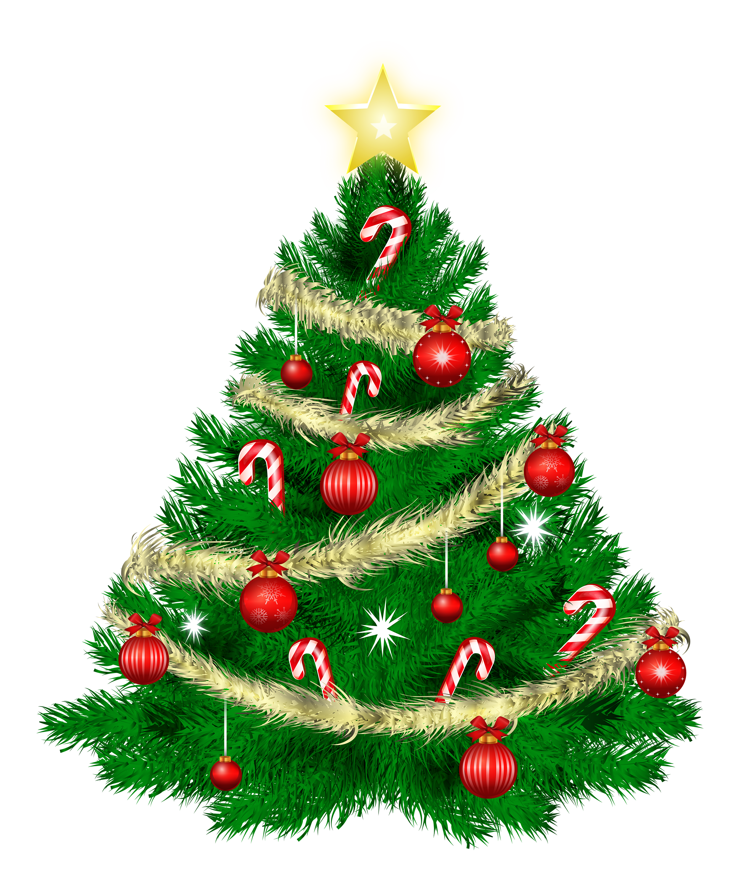 Clip Art Clipart Christmas Tree christmas tree clipart transparent clipartall ornaments