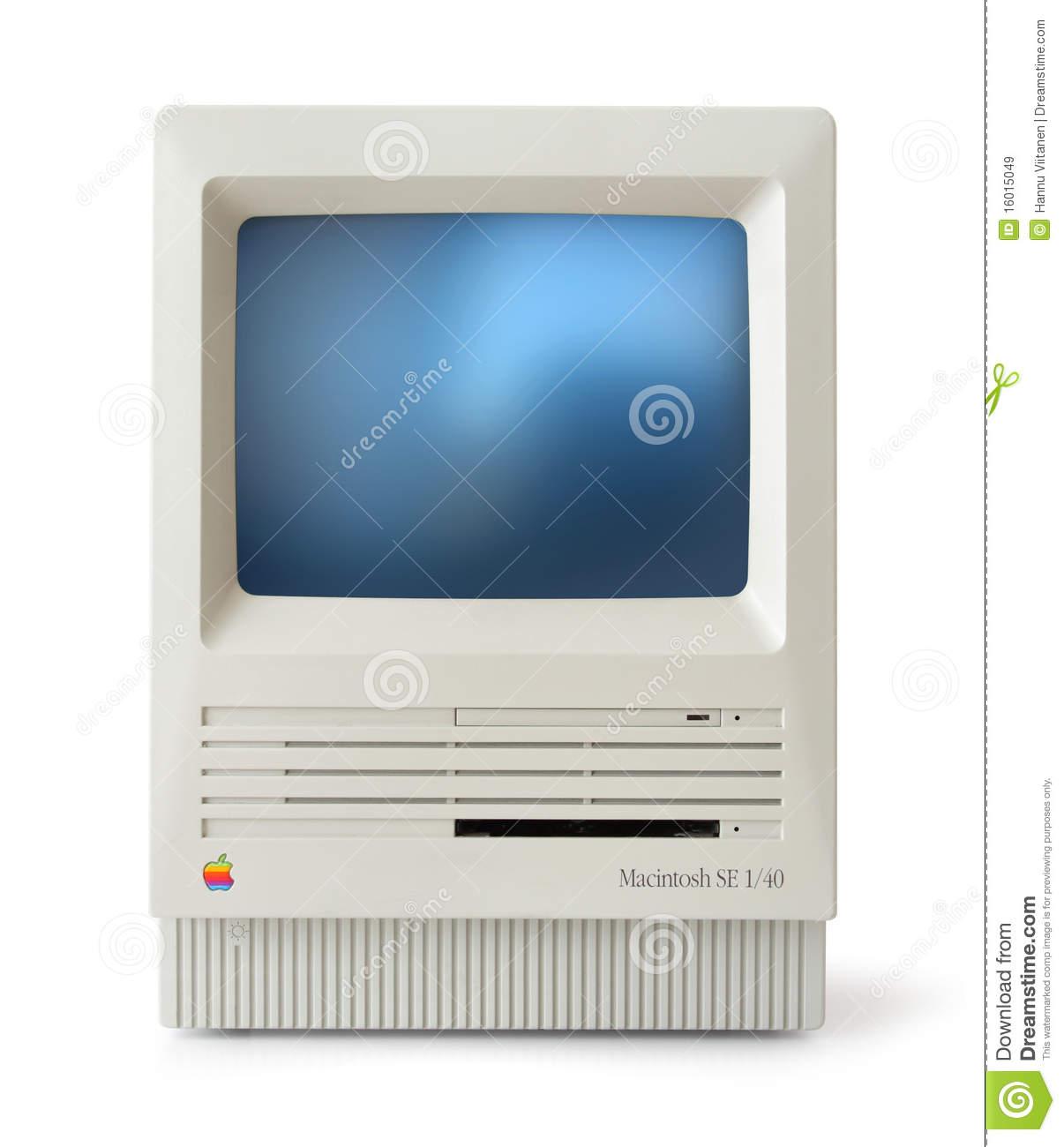 Clip Art Clipart For Mac macintosh clipart kid classic mac se front editorial stock image 16015049
