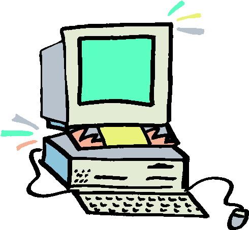 Clip Art Computer Clipart #1 - Clipart Computer
