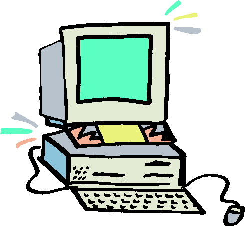 Clip Art Computer Clipart #1