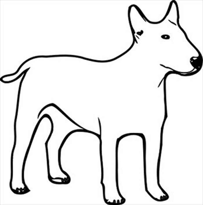 Clip Art Dog Clipart Black And White dog clipart black and white png clipartall clip art
