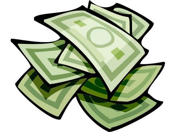 Clip Art Dollar Bill - Clipart library