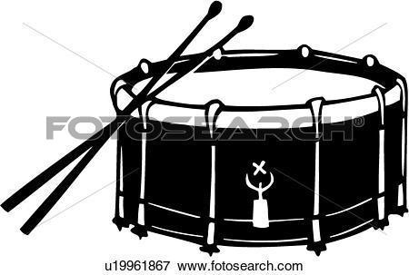 Clip Art - , Drum, Instrument, Music, Mu-Clip Art - , drum, instrument, music, musical, snare, . Fotosearch-0