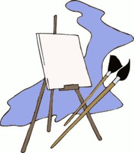 Clip Art Easel - Clipart library