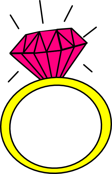 Engagement Ring Clip Art