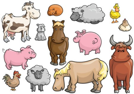 Clip Art Farm Animal Clipart Cartoon Far-Clip Art Farm Animal Clipart cartoon farm animal clipart clipartall free clipart-7