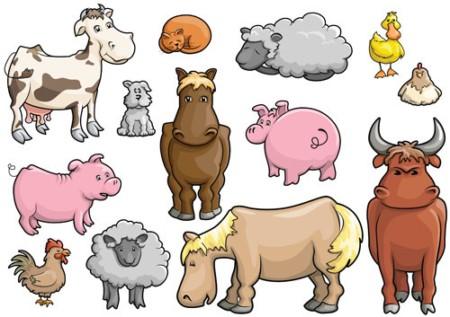 Clip Art Farm Animal Clipart cartoon farm animal clipart clipartall free clipart