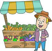 clip art farmers market ...