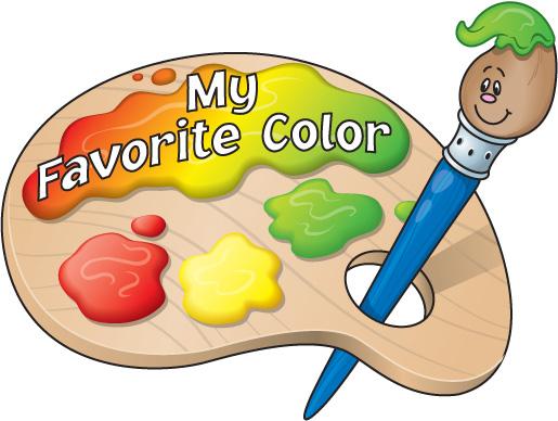 Clip Art Favorite Color Clipart