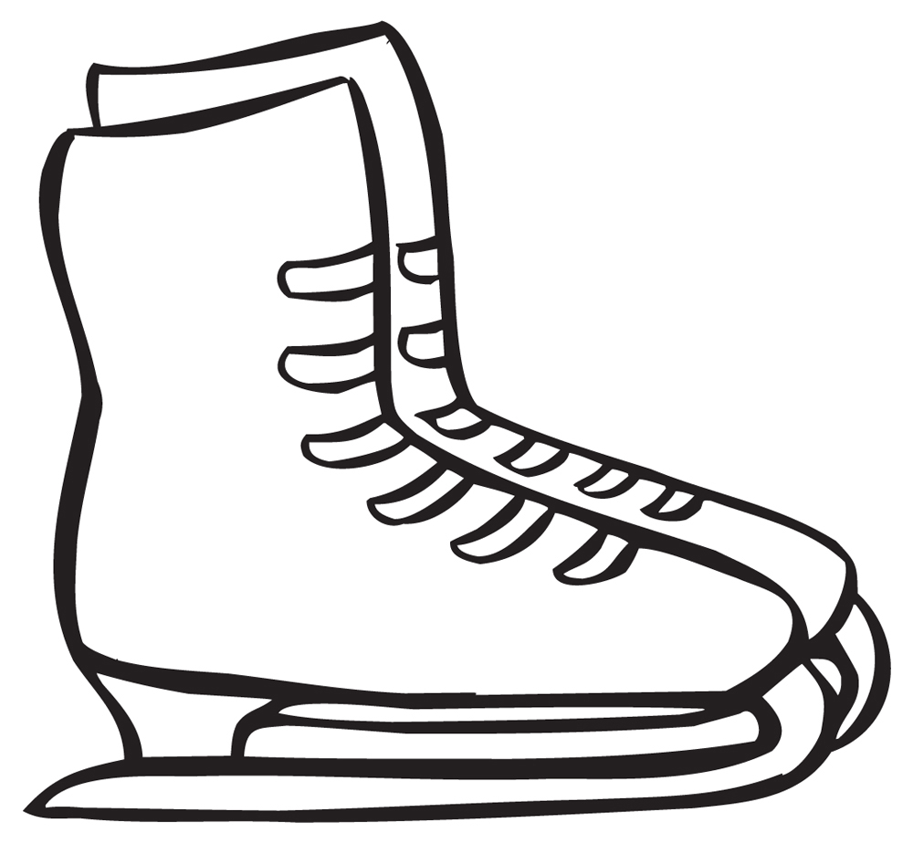 Ice Skates Clip Art