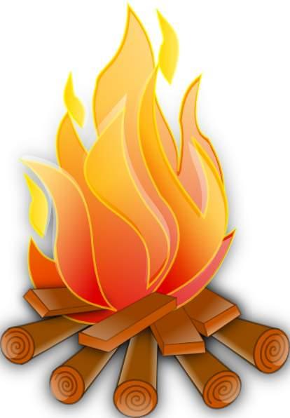 Clip art fire clipart image - Fire Clip
