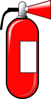 Clip Art Fire Extinguisher .-Clip Art Fire Extinguisher .-3