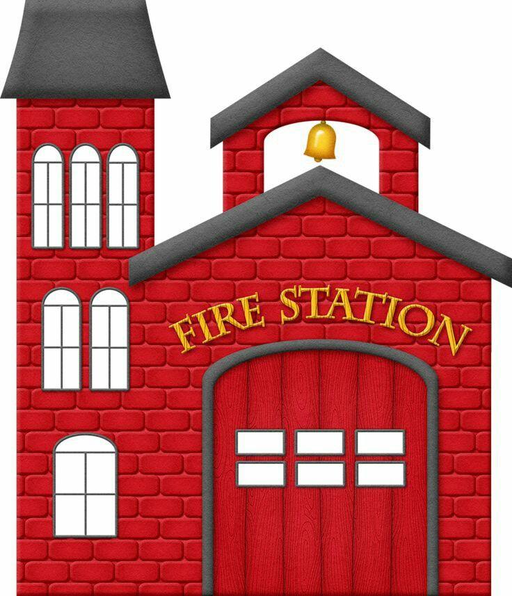 Clip Art Fire Station