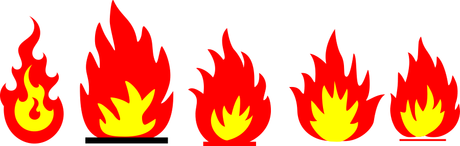 Clip Art Flame Clipart free flame clipart clipartfox flames clip art black and