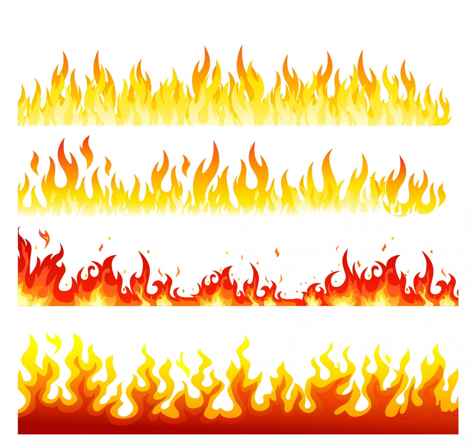 31+ Flame Border Clip Art | ClipartLook
