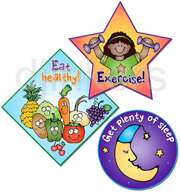 Clip Art For Health Life Family Community Smiles By Dj Inkers