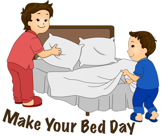 Clip Art For Make Your Bed Day Photo Credit Dixie Allan