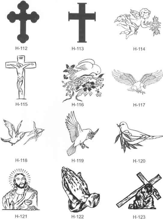 Clip Art For Memorial .-Clip Art For Memorial .-4