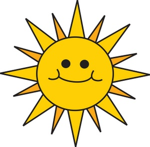 ... Clip art for sun ...