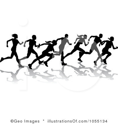 Clip art free, Running and .
