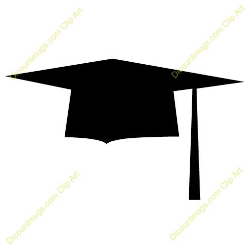 Clip Art Graduation Cap - clipartall .