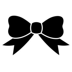 Clip art hair bow clipart 3 .