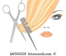 Clip Art. Haircut