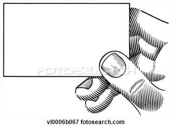 Clip Art Hand Holding Business .-Clip Art Hand Holding Business .-6