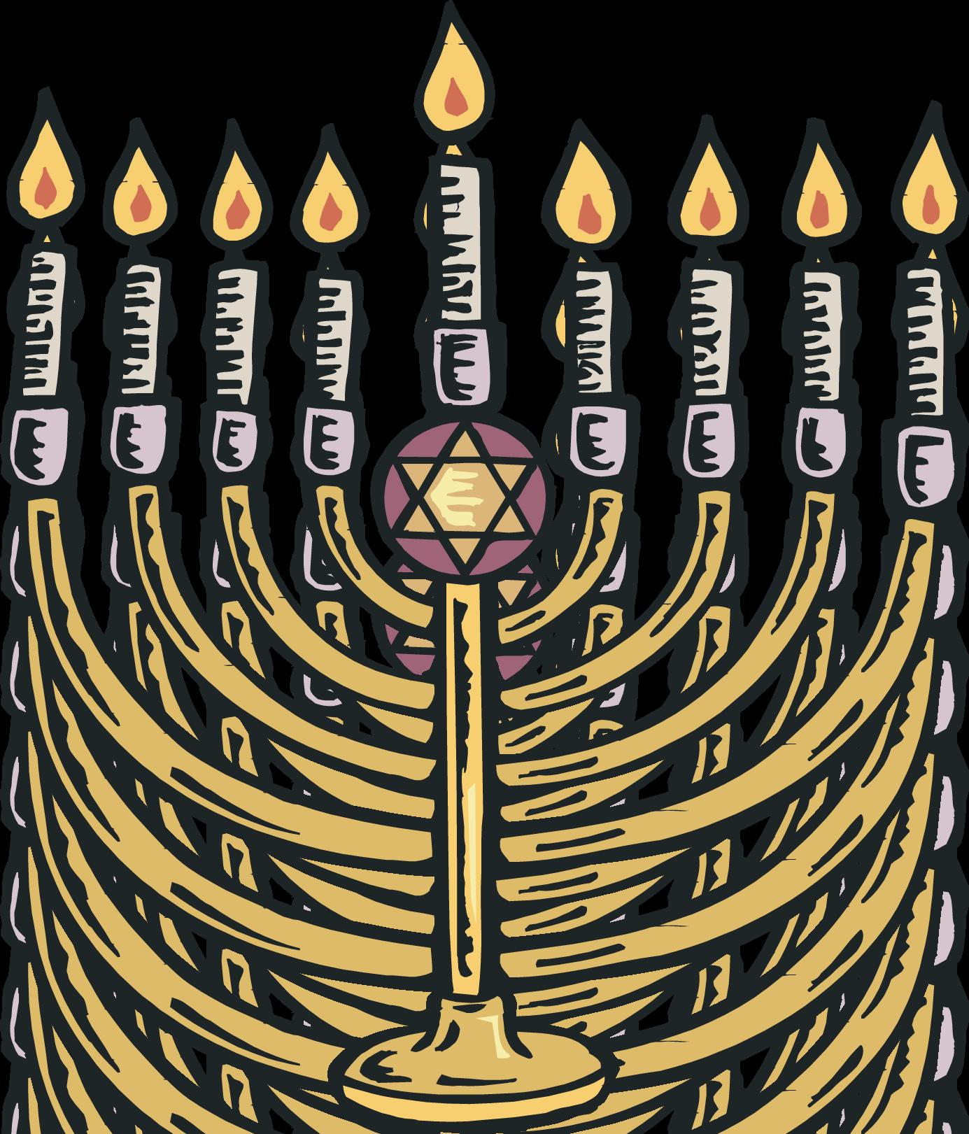 Clip Art Hanukkah