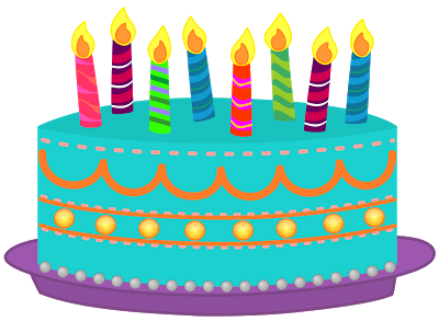 Clip Art Happy Birthday Cake .-Clip Art Happy Birthday Cake .-11