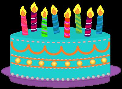 Clip Art Happy Birthday Cake .