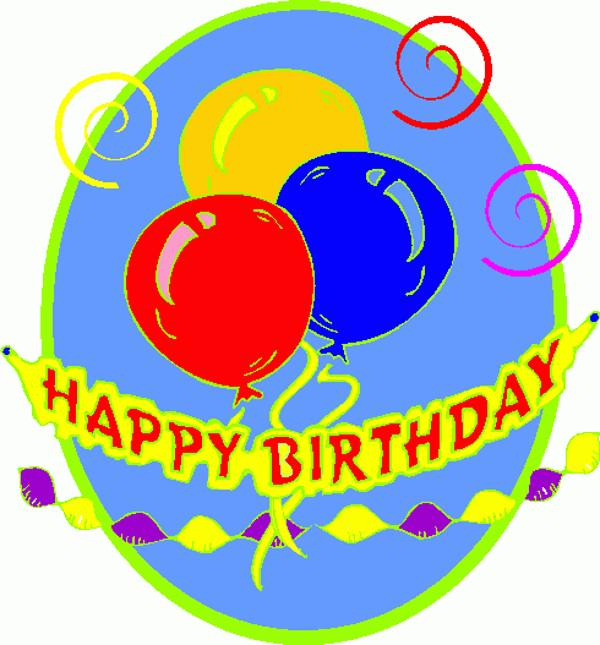 Clip Art Happy Birthday .