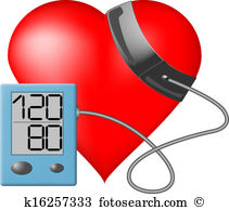 Clip Art. Heart - Blood pressure monitor-Clip Art. Heart - Blood pressure monitor-6