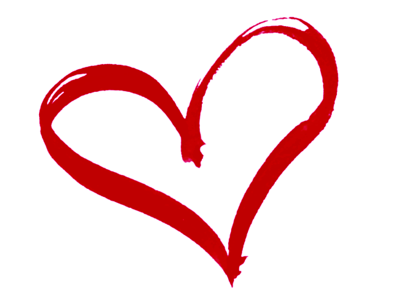 Clip art heart outline free clipart images 5