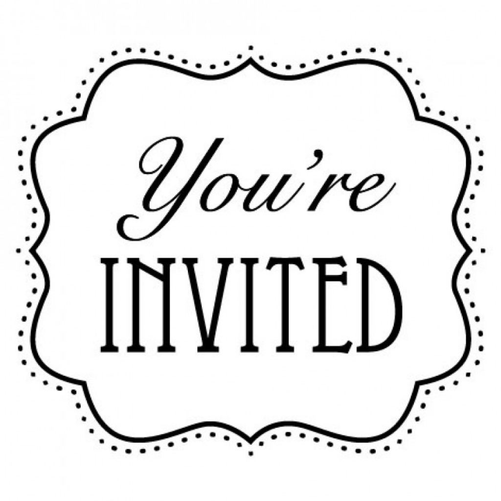 You Re Invited Clipart