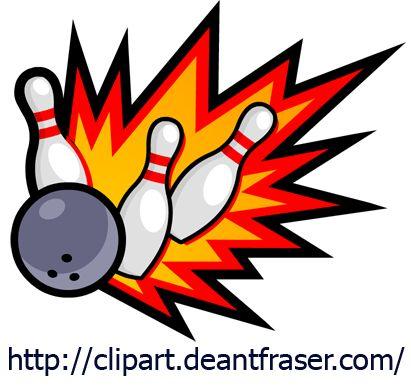 Clip Art Hoard: Bowling Night!
