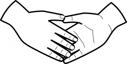 Clip Art, Holding Hands And .-Clip art, Holding hands and .-3