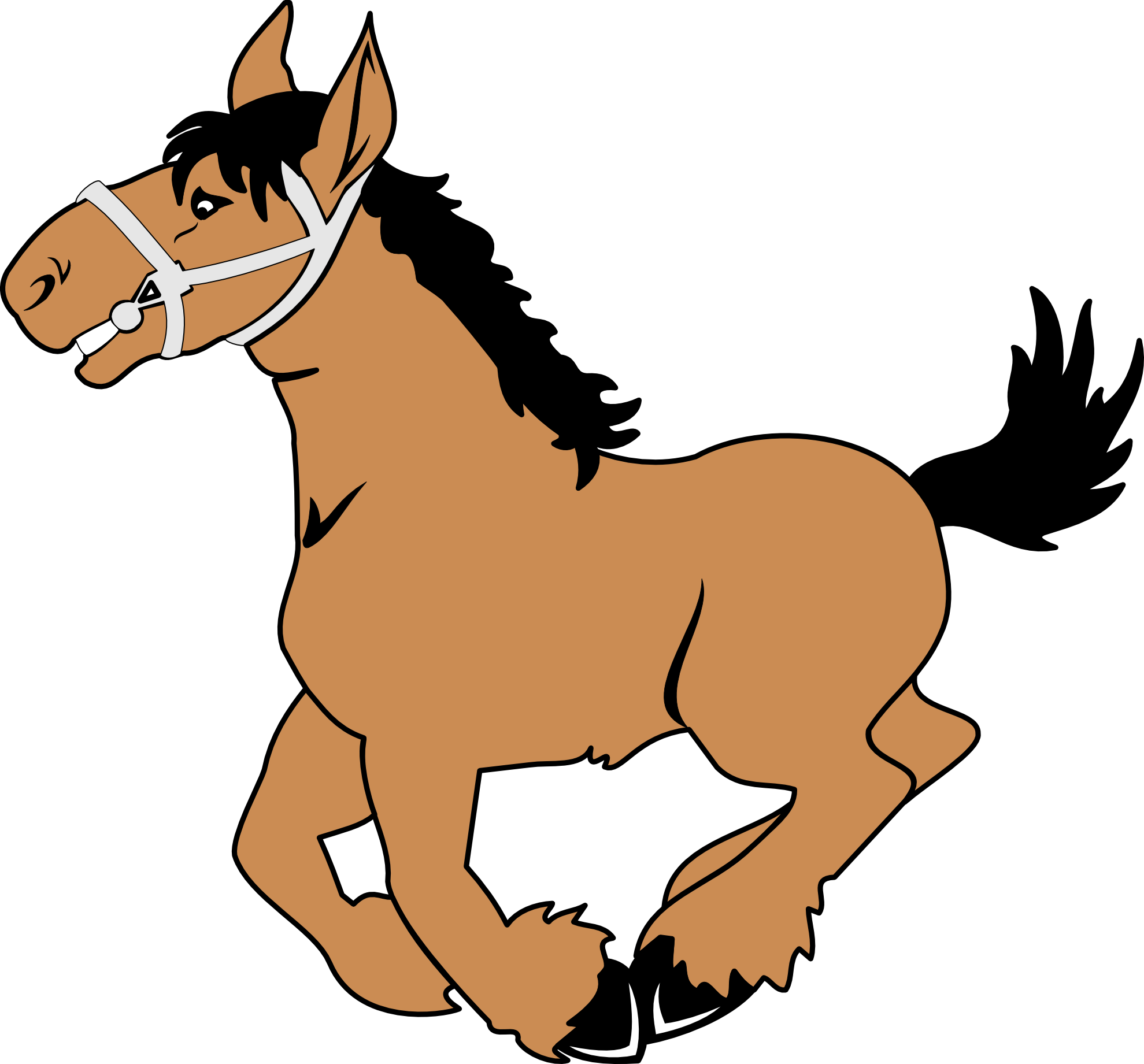 Clip Art Horse - Clipart library