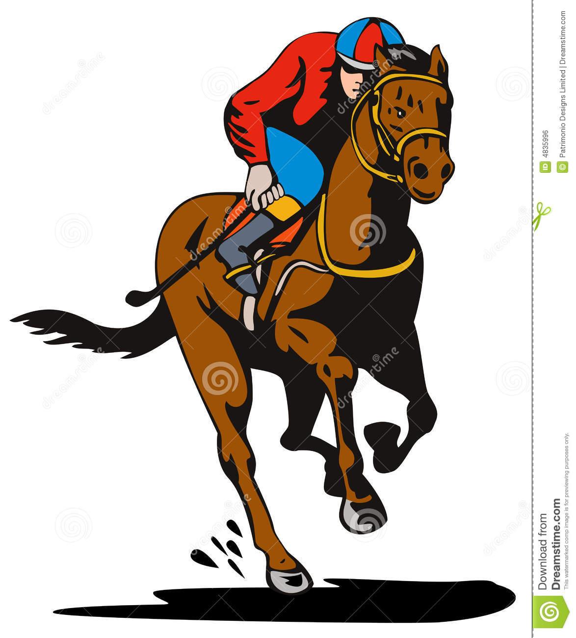 Clip Art Horse Racing Jockey-Clip art horse racing jockey-0