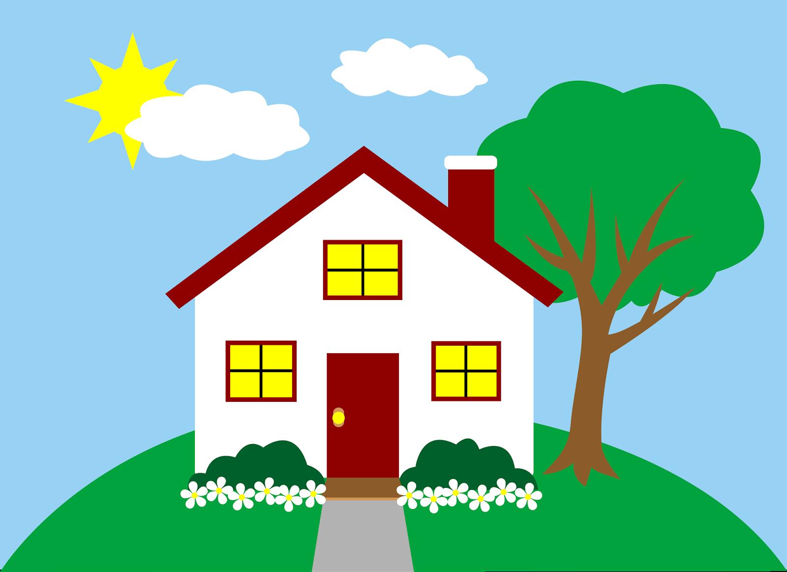 Clip art house-Clip art house-5